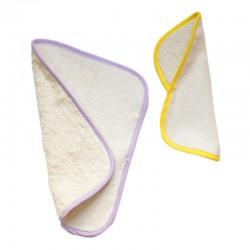 Lingette lavable extra-douce en coton biologique