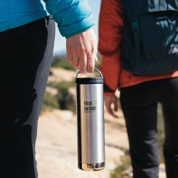 """Stainless steel vacuum insulated bottle """"TK Wide"""" 592ml."""