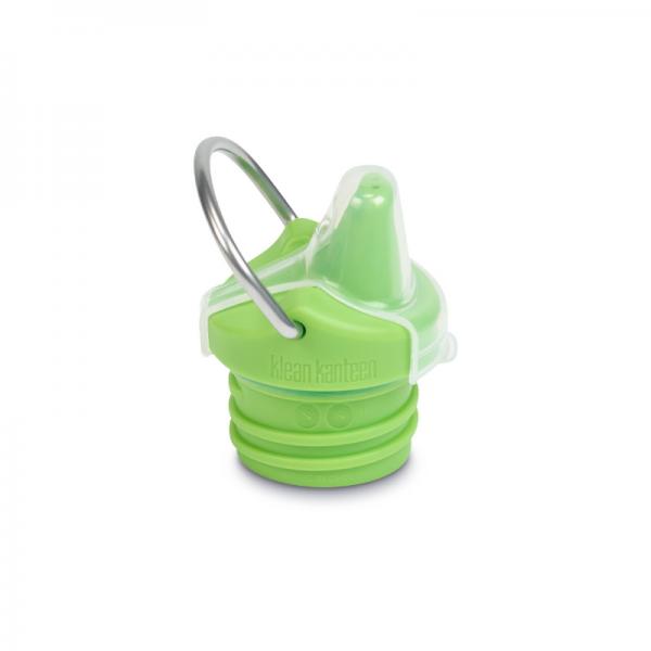 Green cap for kids Sippy kleen kanteen bottle