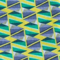 Pochon tissu imprimé 15x10 cm.