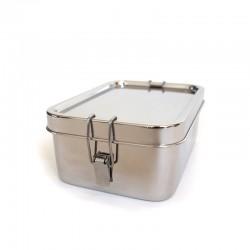 "Fiambrera rectangular hermética de metal ""Bento Wet Box"""