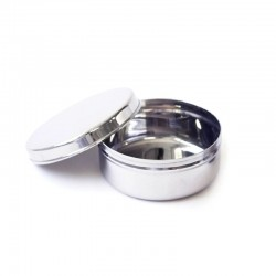 Boîte à repas ronde en metal EcoDipper