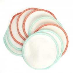 REUSABLE ORGANIC COTTON MAKE-UP REMOVAL PAD – 9.5cm