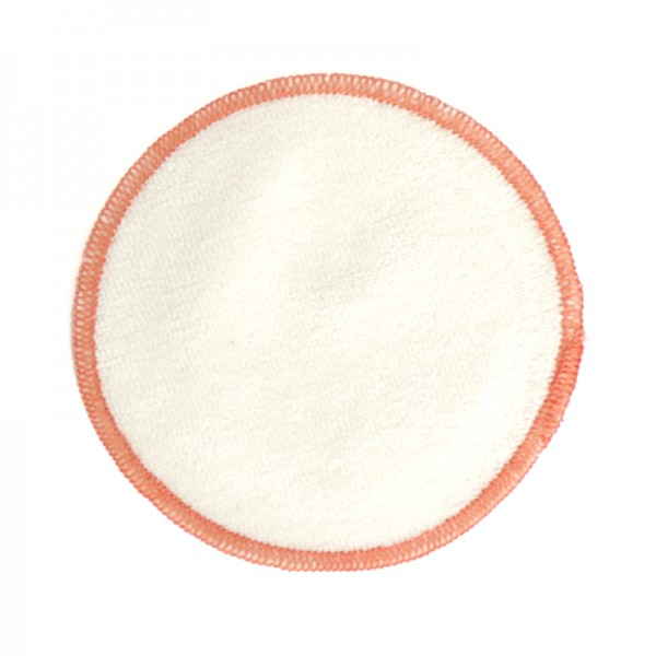 Disco desmaquillante reutilizable de algodón orgánico - 9,5cm