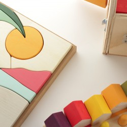 Beach Themed Wooden Puzzle
