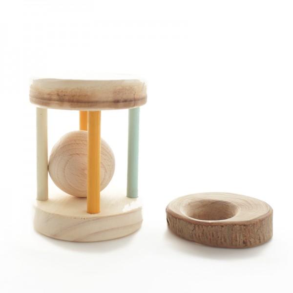 Pack de tesoros de madera para bebés
