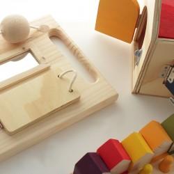Wooden sensory board