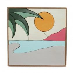 Puzzle de madera Playa