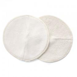 Coussinets d'allaitement réutilisables, absorbants et ergonomiques
