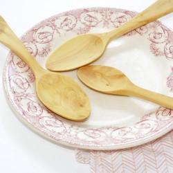 Cuillère à soupe en bois de buis
