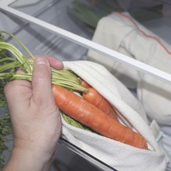Fruits and vegetables bags for the fridge