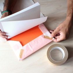 Ruban adhésif en papier