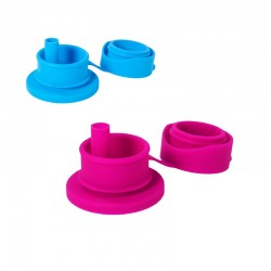 PURA Big Mouth Silicone Sport Straw Top
