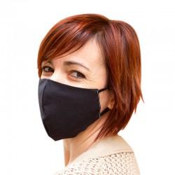 Masque hygiénique lavable et réutilisable en coton