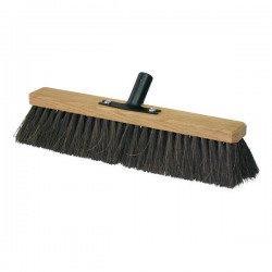 Outdoor Broom with Vegetable Bristles