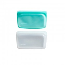 Stasher Snack Reusable Silicone Storage Bag Small
