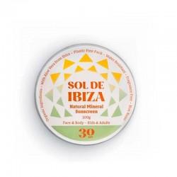 SOL DE IBIZA Protector solar mineral SPF 30 - 100ml.