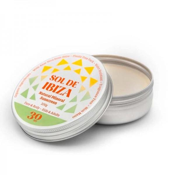 SOL DE IBIZA Protection solaire minérale SPF 30 - 100 ml