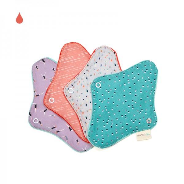 Protège-slip lavable en coton bio Petit format