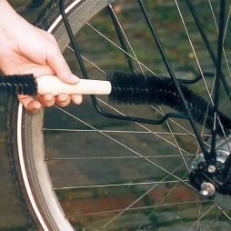 Cepillo para limpiar bicicletas y motocicletas