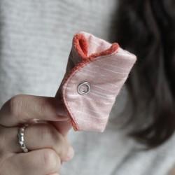 Salvaslip de tela impermeable y transpirable pequeño