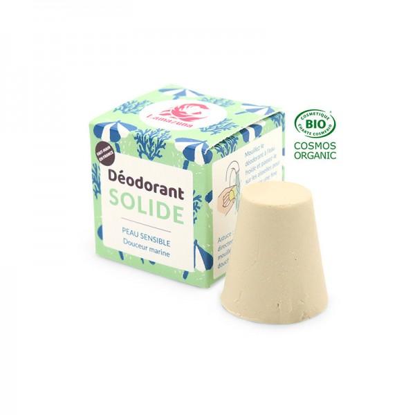 Déodorant solide peau sensible - Marin -