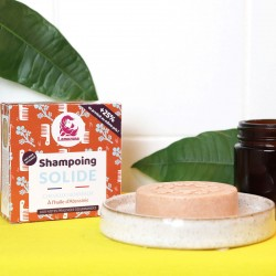 Shampoing solide naturel pour cheveux normaux avec Huile d'Abyssinie