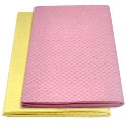 Carré éponge écologique en coton et cellulose 36x63 cm.