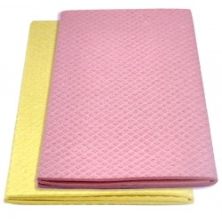 Ecological cellulose and cotton sponge wipe 36x63 cm.