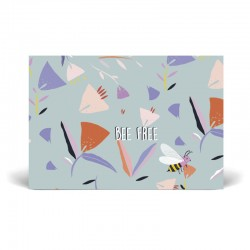 Carte postale simple 10 x 15 cm - Abeille - Papier FSC