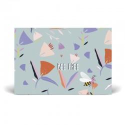 Postcard 10 x 15 cm - Bee - FSC Paper