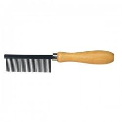 Peigne en inox pour nettoyer les brosses et balais