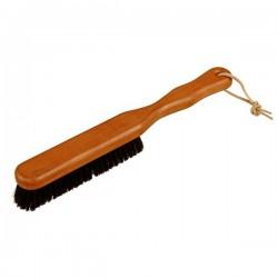 Cepillo para ropa y tejidos con hilos de bronce y cerdas naturales