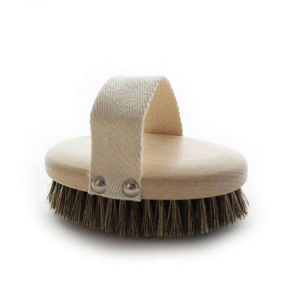Dry Body Brushing & Bath Brush with Mixed Fiber Bristles
