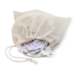 Recycled cotton laundry bag