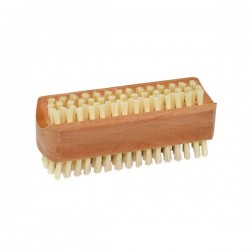 Cepillo de uñas de madera de peral 2 caras