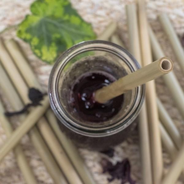 Pajita de Bambú Local