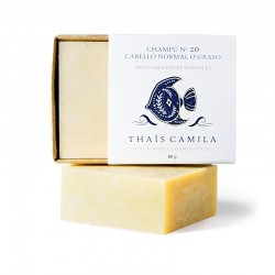 Nº20 Natural Shampoo Bar for Normal or Oily Hair