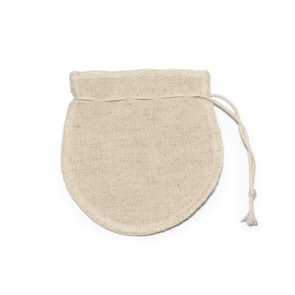 Reusable Recycled Cotton & Hemp Tea Bag