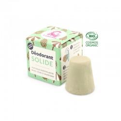 Desodorante sólido natural con aceites esenciales amaderados
