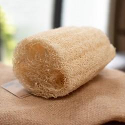 Natural luffa sponge 10 cm.