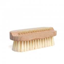 Luxury Double-Sided Natural Bristles Nail Brush