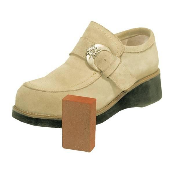 Goma de silicona para zapatos de ante