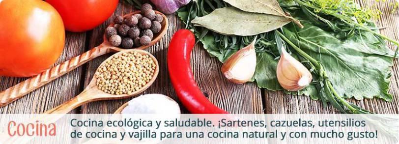 Útensilios ecológicos para cocinar